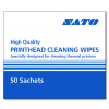 Sato High Quality Printhead Cleaning Wipes (50 Sachets)