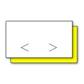 Monarch Paxar 1131 White or Yellow Price Gun Labels 20 x 11mm (20K/8 reels) ** Free Inks Worth £19.75 When You Buy 3 Boxes